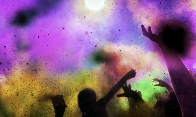 Brighten Up at the Beautiful Holi Colour Festival